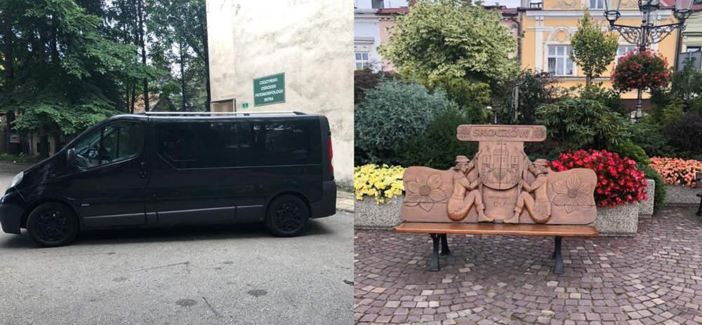 Перевезення померлого з Скочува (Skoczów, Польща) в Україну